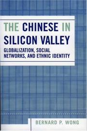 Cover of: The Chinese in Silicon Valley