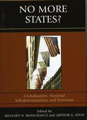 Cover of: No More States? | Richard N. Rosecrance