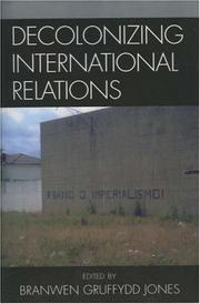 Cover of: Decolonizing International Relations