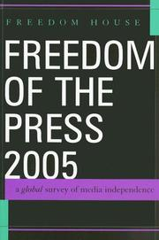 Cover of: Freedom of the Press 2005