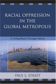 Cover of: Racial Oppression in the Global Metropolis