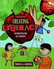 Cover of: Creating Literacy Instruction for All Students, MyLabSchool Edition