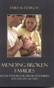 Cover of: Mending Broken Families