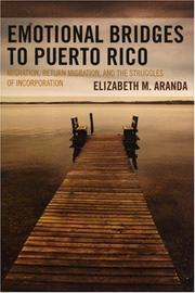 Cover of: Emotional Bridges to Puerto Rico