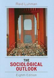 Cover of: The sociological outlook