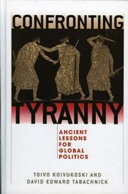 Cover of: Confronting tyranny |