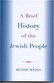 Cover of: A Brief History of the Jewish People