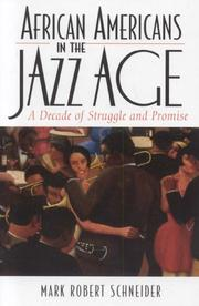 Cover of: African Americans in the Jazz Age