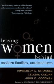 Cover of: Leaving Women Behind