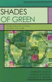 Cover of: Shades of Green