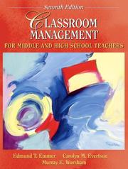 Classroom Management for Middle and High School Teachers (7th Edition)