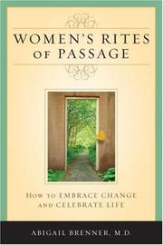 Cover of: Women's Rites of Passage
