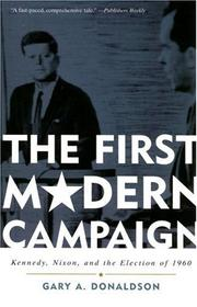 Cover of: The First Modern Campaign