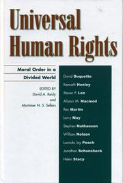 Cover of: Universal Human Rights