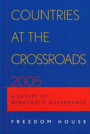 Cover of: Countries at the Crossroads 2005