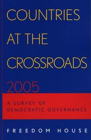 Cover of: Countries at the Crossroads