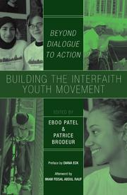 Cover of: Building the Interfaith Youth Movement | Patrice Brodeur