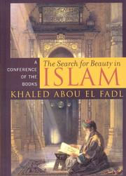Cover of: The search for beauty in Islam | Khaled Abou El Fadl
