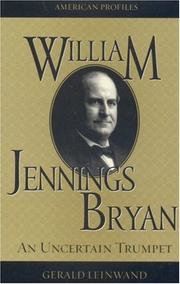 Cover of: William Jennings Bryan