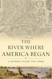 Cover of: The River Where America Began