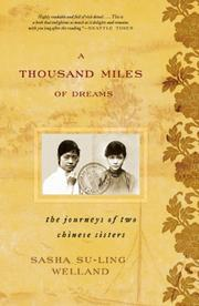 Cover of: A Thousand Miles of Dreams