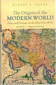 Cover of: The Origins of the Modern World
