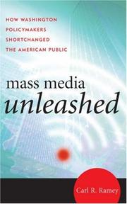 Cover of: Mass Media Unleashed