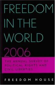 Cover of: Freedom in the World 2006