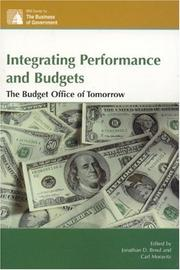 Cover of: Integrating Performance and Budgets