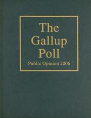 Cover of: The Gallup Poll