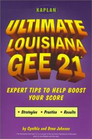 Cover of: Kaplan Ultimate Louisiana GEE  | Kaplan Publishing