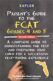 Cover of: Parent's guide to the FCAT