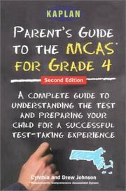 Cover of: Parent's guide to the MCAS for grade 4