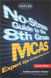 Cover of: No-stress guide to the 8th grade MCAS (Massachusetts Comprehensive Assessment System)