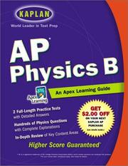 Cover of: AP Physics B | Apex Learning