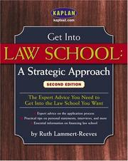 Cover of: Get Into Law School