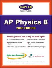 Cover of: AP Physics B