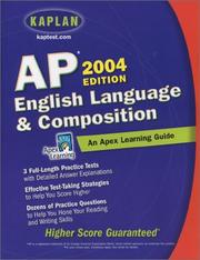 Cover of: AP English Language and Composition