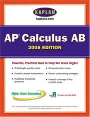 Cover of: AP Calculus AB 2005 | Kaplan Publishing