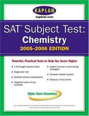 Cover of: SAT Subject Tests
