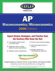 Cover of: Kaplan AP Macroeconomics/Microeconomics 2006 Edition