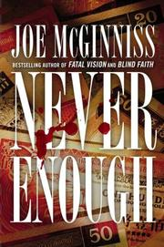 Cover of: Never Enough | Joe McGinniss