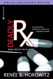 Cover of: Deadly Rx (RX)