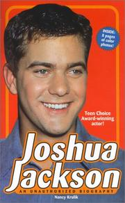 Cover of: Joshua Jackson: an unauthorized biography