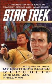 Cover of: My Brother's Keeper: Republic (Star Trek (Ebooks Numbered))