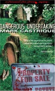 Cover of: Dangerous Undertaking (A Poisoned Pen Press Mystery) | Mark Castrique