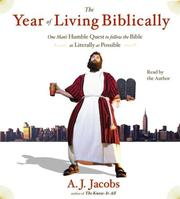 Cover of: The Year of Living Biblically | Jacobs, A. J.