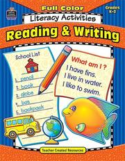 Full-Color Literacy Activities
