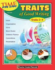 Cover of: Traits of Good Writing (Grades 3-4)