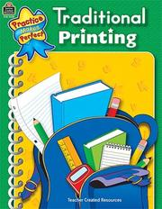 Cover of: Traditional Printing (Penmanship)
